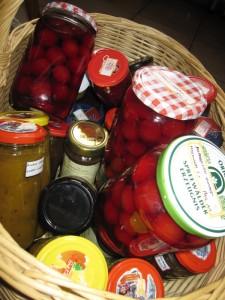 Eingemachtes Obst - Chutney, Marmelade, Kompott